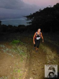 Tori on the trails