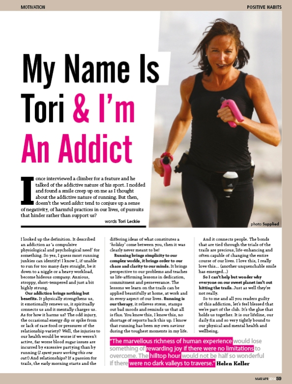 Tori addiction